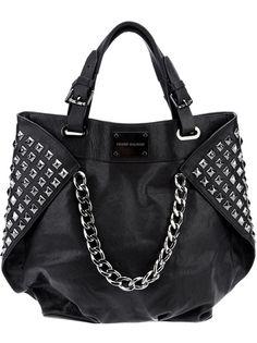 Pierre Balmain Studded Leather Per 1 Bag Paris