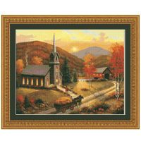 Autumn in Vermont Counted Cross Stitch Leaflet