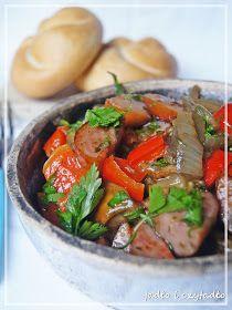 Jadło i czytadło: Grzybowe leczo Japchae, Potato Salad, Potatoes, Ethnic Recipes, Food, Potato, Essen, Meals, Yemek
