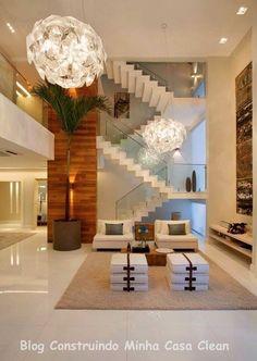 1000 images about escadas on pinterest ems unique for Casas super modernas