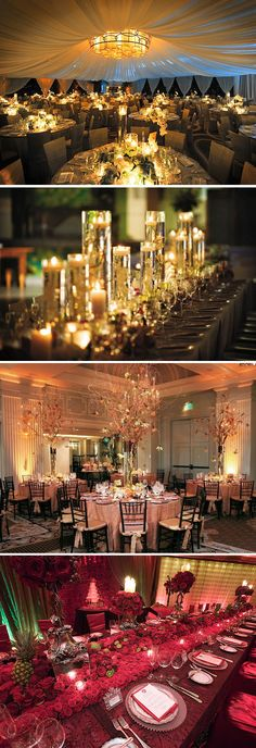 Candlelight receptions