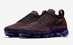 Nike Air VaporMax Flyknit 2 Color: Black/White-Team Red-Racer Blue-Game Royal Style Code: 942843-006 Release Date: May 17, 2018 Price: $190 Nike Vapormax Flyknit, Blue Game, Nike Basketball Shoes, Nike Shoes, Petite Fashion, Royal Fashion, Nike Air Vapormax, Africa Fashion, Milan Fashion Weeks