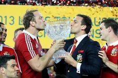 Lions 2013. Series Win. Alun Wyn Jones & Sam Warburton British And Irish Lions, Beautiful World, Rugby, Of My Life, Passion, Football