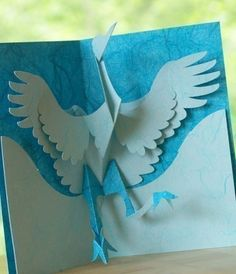 Have you ever marveled at a beautiful pop-up card and wondered how they made it? Now, you can do it too! Kirigami, the art of paper cutting is special way to make beautiful handmade paper art. With Easy Cut Pop-up™ printable patterns and Kirigami is fun for novice and advanced