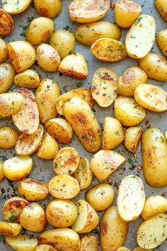 Toss 'em with a little ranch seasoning and roast. | The 34 Most Delicious Things You Can Do To Potatoes