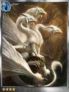 °Alabaster Plumed Dragon