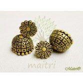 terracotta-handmade-jewelry-big-earring-jhumka-teg409  Maitri Crafts www.maitricrafts.com https://www.facebook.com/maitricrafts.maitri