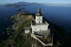 #Lighthouse - Le #phare des iles sanguinaires à Ajaccio.   -   http://dennisharper.lnf.com/