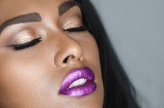 Forbidden Fruit Metallic liquid lipstick - Water proof, Smudge proof,