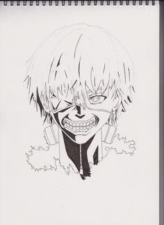 How to Draw Ken Kaneki [Tokyo Ghoul] by Drawinglikeasir