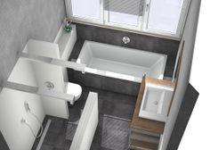 Luxe kleine badkamer http://kleinebadkamers.nl/category/kleine-badkamer-ontwerpen/