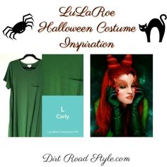 Poison Ivy LuLaRoe Costume Inspiration