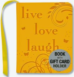"""Sometimes you just need a cute, little book...and this one is PERFECT!  """"Who doesn't want a life filled with love, laughter and gusto -- a b..."""