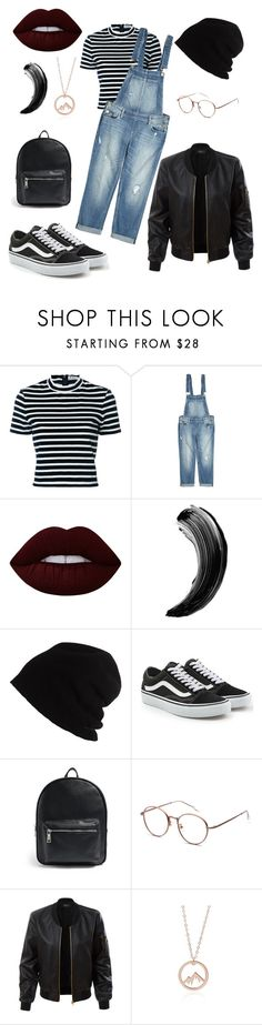 """""""Lazy day"""" by amandakatherine12 ❤ liked on Polyvore featuring T By Alexander Wang, Paige Denim, Lime Crime, SCHA, Vans, Forever 21 and LE3NO"""