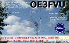 eQSL From OE3FVU