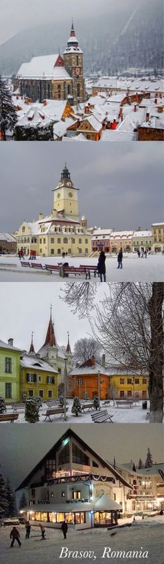 I would go to Brasov, Romania. Sure. Let's go. RM