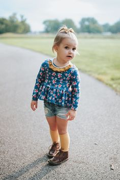 Country Road Shorties- Girls' Shorts, Baby/Toddler Acid Washed Cutoff Shorts