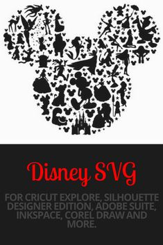 Mickey mouse head svg, Disney svg, mickey mouse svg, mickey svg, cartoon character svg, svg file for cricut, silhouette, svg files, svg #svg #svgfiles #disney #ad