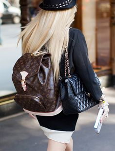 LV & Chanel - two bags are better than one