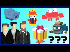 Crossy Road ALL 8 SECRET CHARACTERS UNLOCK! | From Cai Shen to Hipster Whale | Android, iOS - YouTube