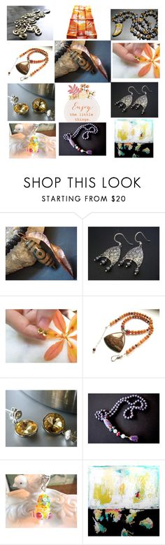 """""""Enjoy the Little Things"""" by anna-recycle ❤ liked on Polyvore featuring modern, rustic and vintage"""