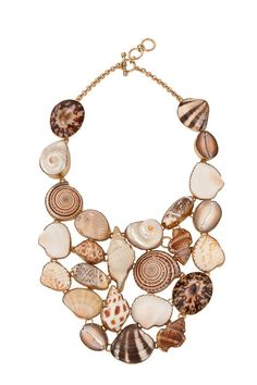 Alchemia Shell Bib Necklace.