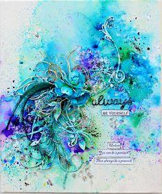 Canvas, Colour and Fun with Trudi Harrison