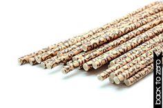 B20 Paper Straw. Animal Print. Leopard. S. by BacktoZero on Etsy