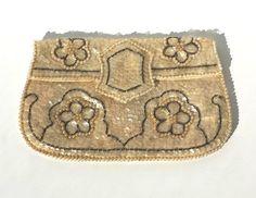 La Regale Clutch Vintage Clutchc Ivory Clutch by Donellensvintage