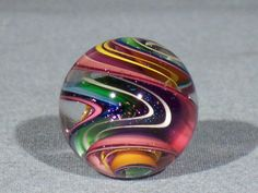 Marbles Hand Made Art Glass James Alloway Dichroic Marble 1306 1 05 Inch | eBay