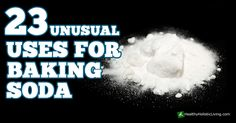 There are some amazing uses for baking soda. Sodium bicarbonate has been around for a long, long time. It's been around in one form or another for over 3500 thousand years, dating back to the...