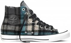 2016 Latest Converse BlackPapyrus All Star Hi Rubber