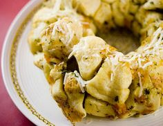 Garlic, Parsley and Parmesan Monkey Bread