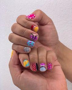Aycrlic Nails, Get Nails, Nail Manicure, Hair And Nails, Nail Design Stiletto, Nail Design Glitter, Minimalist Nails, Nagellack Trends, Crazy Nails