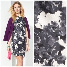 NWOT Kate Spade Floral Sheath Dress Absolutely stunning and perfect for a spring garden party! Brand new without tags attached. Perfect condition! 52% cotton, 48% silk. No trades!! 042916150ccb kate spade Dresses