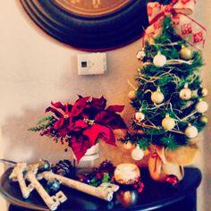 Christmas Nook. #brffco #burlap #minichristmas #keys #youcanbuyme