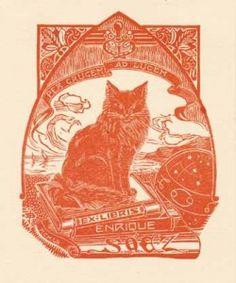 Ex Libris Meaning Printmaking - Trudie Sutworth Ex Libris Meaning, Locuciones Latinas, Cat Signs, Painting Edges, Elements Of Art, Op Art, Cute Illustration, Art Lessons, Printmaking