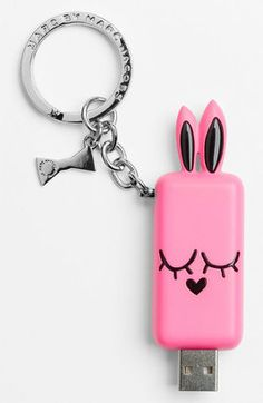 Marc by Marc Jacobs 'Katie the Bunny' Flash Drive - ShopStyle Gifts Marc Jacobs Wallet, Her Packing List, Usb Drive, Tech Accessories, Iphone Case Covers, Flash Drive, Bunny, Nordstrom, Gifts