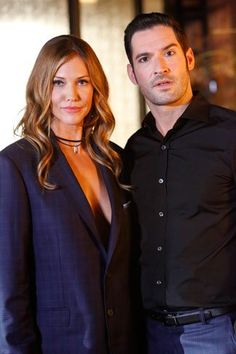 Preview of Lucifer season 2 episode 2 starring Tom Ellis and Tricia Helfer. #lucifer