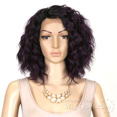 Janet Collection Natural Super Flow Deep Part Lace Wig - RANIA - WigTypes.com