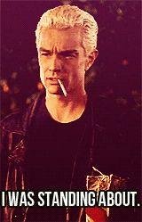MY EDIT spike Buffy the vampire Slayer BTVS buffy blood ties mine:btvs