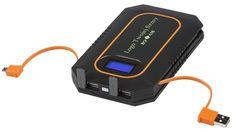 Solar charger with printed logo / Ładowarka solarna z nadrukowanym logo