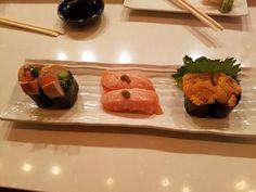 Ankimo Aburi Shake Uni #sushi #food #foodporn #japanese #Japan #dinner #sashimi #yummy #foodie #lunch #yum