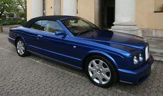 6.75 V8 Bentley Azure convertible