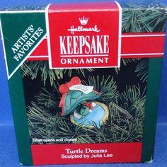 1992 Turtle Dreams Hallmark Retired Ornament by ShoppingJustForYou