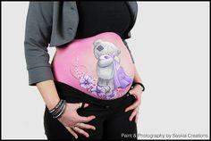 bellypaint tatty tatty, me to you beertje saskia creations