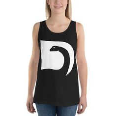 "Débardeur unisexe ""logo blanc"" Logos, Dean, Athletic Tank Tops, Women, Fashion, Mens Big And Tall, Unisex, Moda, Fashion Styles"