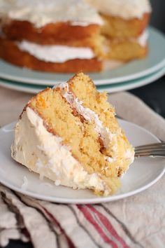 Frock Files | Pineapple Orange Cloud Cake