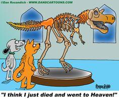 Dog cartoon by Dan Rosandich