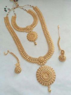 Gold Necklace Set Gold with Jewellery Collection little Damas Jewellery Exchange Policy . Jewellery Exchange Toronto Yonge Street or Jewellery Online Diamond Gold Jewellery Design, Gold Jewelry, Gold Bangles, Statement Jewelry, Jewelry Necklaces, India Jewelry, Or Rose, Wedding Jewelry, Jewelry Collection